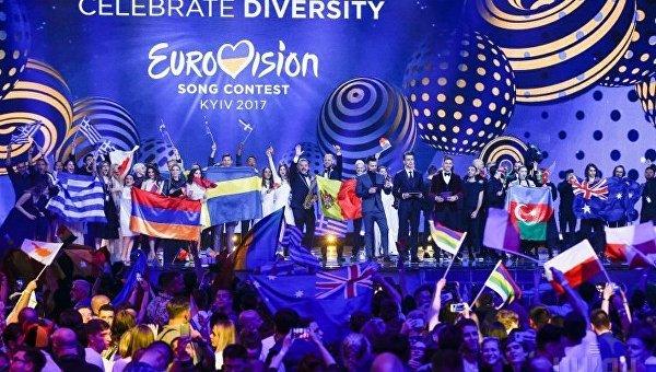 Первый полуфинал Евровидения-2017 в Киеве