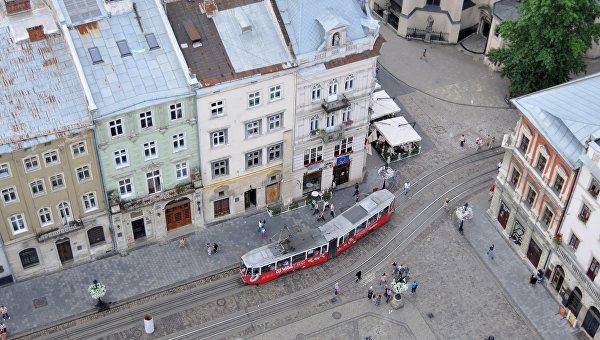 Львов - площадь Рынок