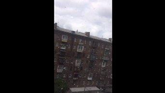 Снег в Киеве 10 мая