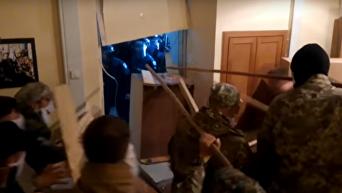 Штурм штаба ОУН в центре Киева 9 мая