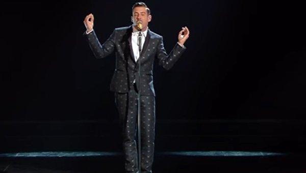 Представитель Италии на конкурсе Евровидение-2017 Франческо Габбиани