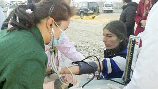 В итоге землетрясения в КНР погибли 8 человек