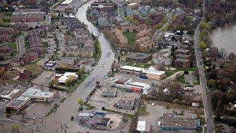 Мощное наводнение в Канаде, один человек погиб, трое пропали без вести