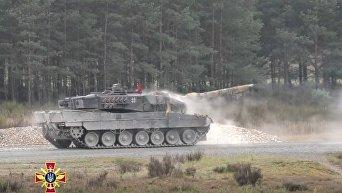 Украинские танкисты заняли предпоследнее место в танковом биатлоне НАТО