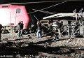 Пассажирский поезд Афины-Салоники сошел с рельсов