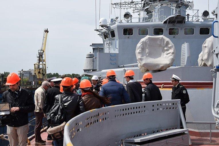 Фрегат ВМС Украины Гетман Сагайдачный