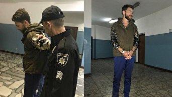 Виталий Сердюк. Задержание после инцидента на Евровидении