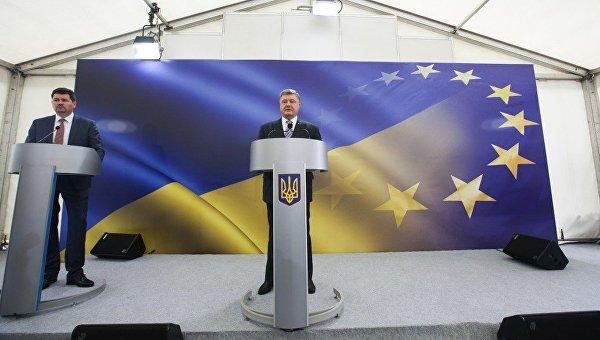 Петр Порошенко в ходе пресс-конференции, 14 мая 2017