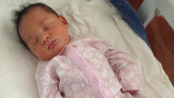 Новорожденный ребенок, которого собирались продать