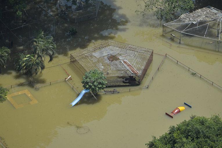 Наводнения и оползни в Колумбии