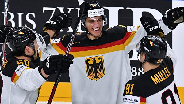 Хоккей. Чемпионат мира. Матч Германия – Латвия