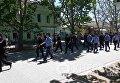 Сорванный марш ЛГБТ в Херсоне