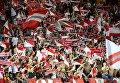 Болельщики ФК Монако празднуют победу клуба