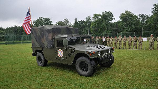Международные военные учения Rapid trident. Архивное фото