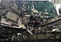 На Шри-Ланке рухнуло здание