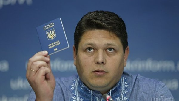Глава Государственной миграционной службы Максим Соколюк. Архивное фото