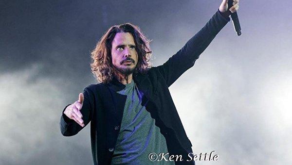 Лидер группы Soundgarden Крис Корнелл