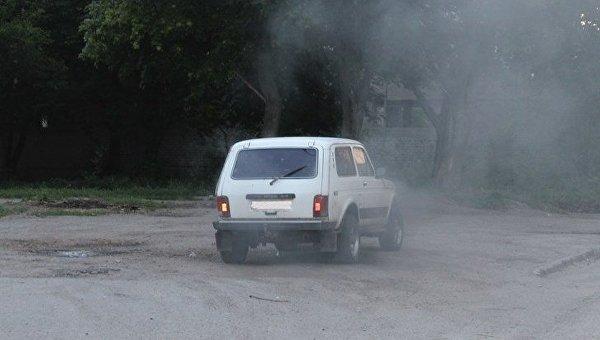 Подрыв авто госслужащего в Кропивницком