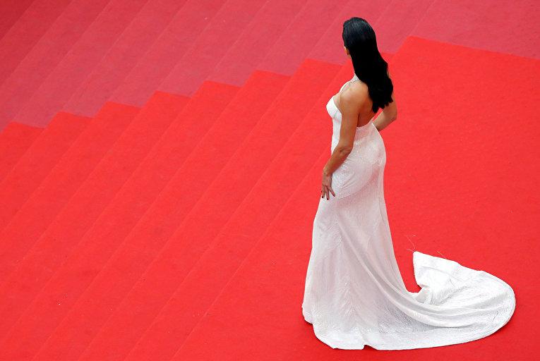 Модель Адриана Лима на церемонии открытия 70-го Каннского международного кинофестиваля