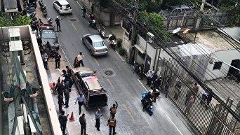 Мужчина поджог сам себя у посольства в Таиланде