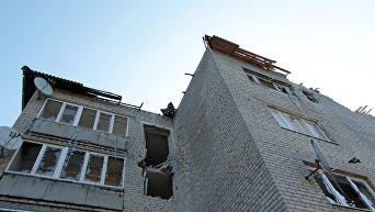 Разрушения в Донбассе. Архивное фото
