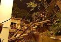 Обрушение жилого дома в центре Сочи