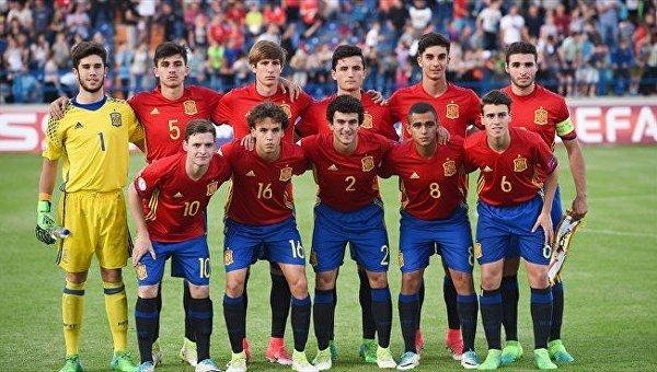 Сборная Испании выиграла чемпионат Европы (U17)