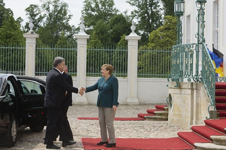 Визит президента Порошенко в Германию