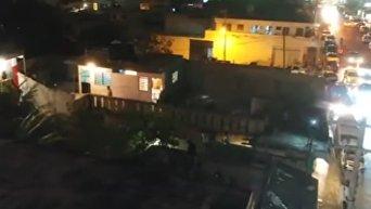 Нападение разъяренной толпы на россиянина в Канкуне. Видео