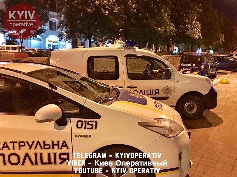 Взрыв произошел в офисе Конгресса украинских националистов в Киеве