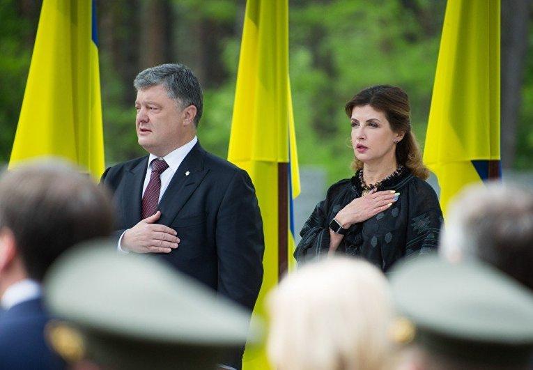 Участие Порошенко в мероприятиях ко Дню памяти жертв политических репрессий