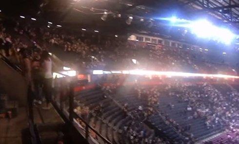 Теракт на стадионе в Манчестере. Видео