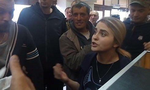 Конфликт в ливанском кафе на Бессарабке в Киеве. Видео