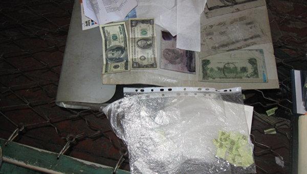 Фальшивые доллары, которые печатали в колонии Запорожской области