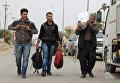 Беженцы в Мосуле. Архивное фото