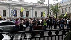 В Киеве патрульные полицейские перекрыли улицу Грушевского