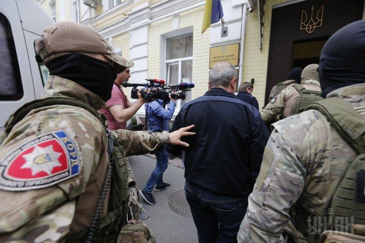 Суд отпустил под личное обязательство экс-начальника налоговой Шевченковского района столицы Украины Башука