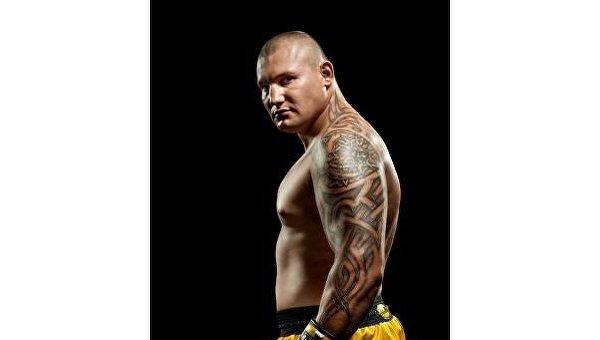 Украинский боксер Андрей Руденко