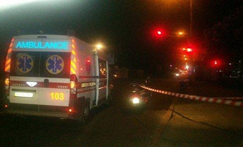 Убийство мотоциклиста на Харьковском шоссе в Киеве