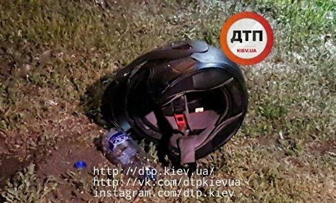 Убийство мотоциклиста в Киеве