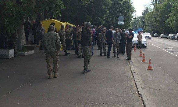 Это Украина: вКиеве неизвестные захватили кабинет главы Госгеологии