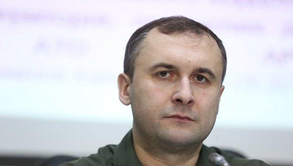 Помощник председателя Государственной пограничной службы Украины, пресс-секретарь Олег Слободян. Архивное фото