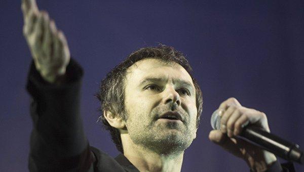 Солист группы Океан Эльзи Святослав Вакарчук. Архивное фото