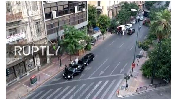 bc505156caa4 apostrophe.ua В Греции взорвалось авто экс-премьера, есть пострадавшие
