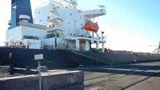Первое судно с антрацитом из ЮАР прибыло в Украину