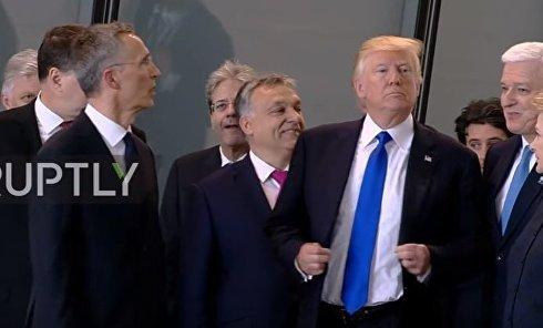 Дональд Трамп vs премьер-министр Черногории. Видео