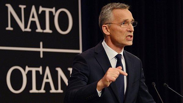 Саммит НАТО в Брюсселе. Йенс Столтенберг