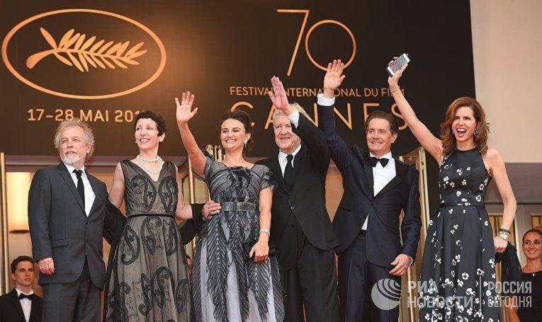 НаКаннском кинофестивале новым сериям «Твин Пикса» Дэвида Линча аплодировали стоя