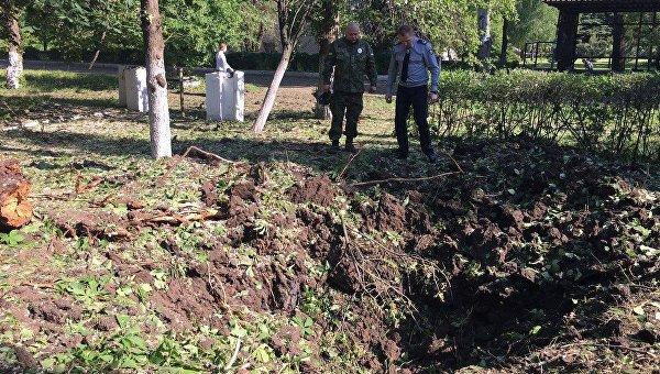 Боевики обстреляли жилой сектор Красногоровки