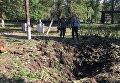 Ситуация в Красногоровке после обстрела